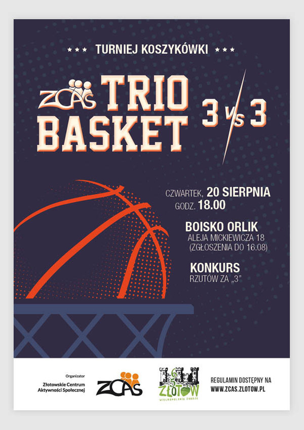 ZCAS Trio Basket